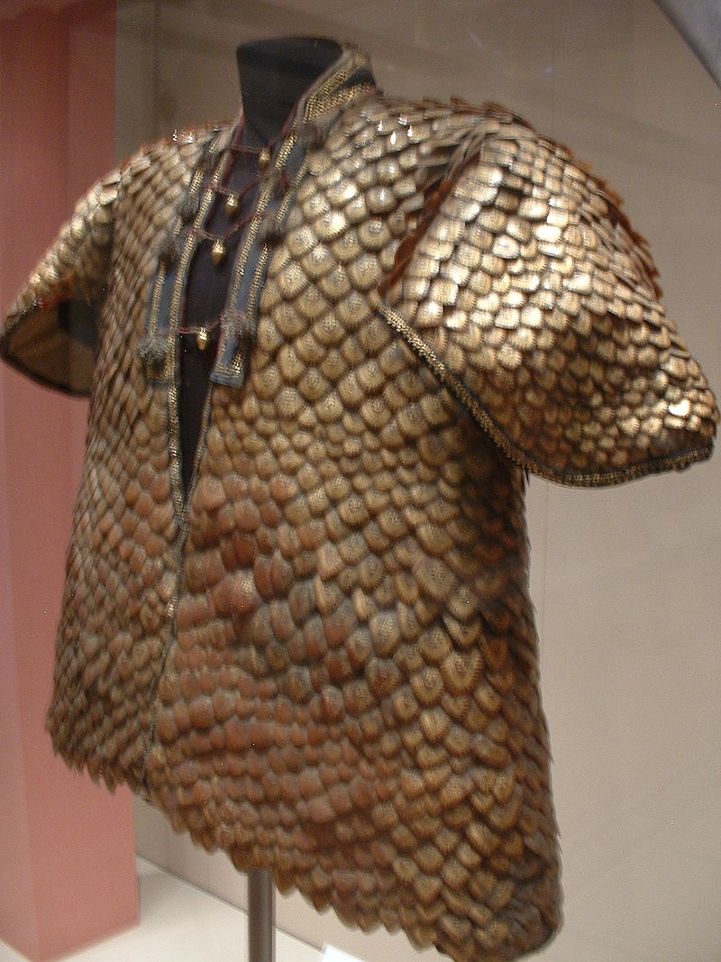 Scale mail armor Coat of Pangolin scales